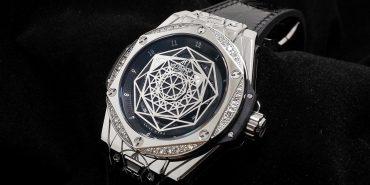 Big Bang Sang Bleu Steel Diamonds