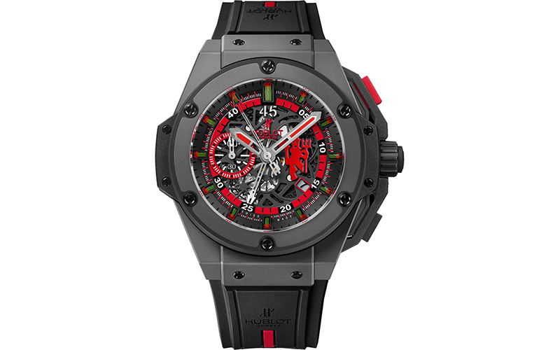 612778200 Hublot King Power 716.CI.1129.RX.MAN11 Automatic Ceramic case Rubber