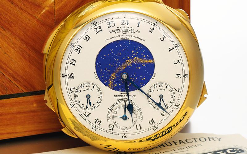 Patek Philippe Henry Graves Jr. Supercomplication pocket watch