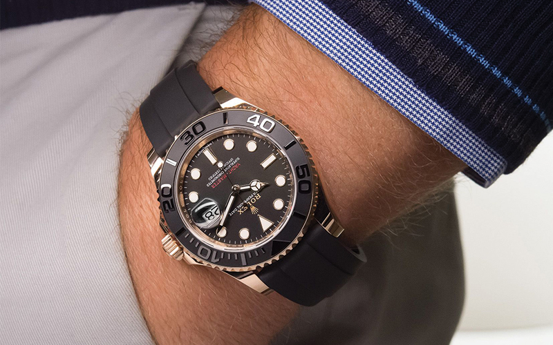Rolex Introduces The Yacht Master Everose With Oysterflex