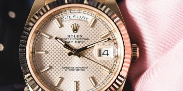 Rolex Oyster Perpetual_Day Date 40_228235sdsmip_Automatic_Rose gold case_Rose gold bracelet_Men's watch/unisex_Rose gold bezel_Sapphire glass_fluted bezel_double waterproofness system