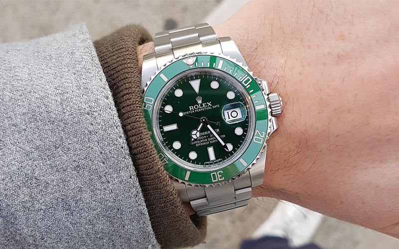 Rolex Oyster Perpetual Date Submariner Date 16610LV