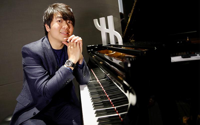 Hublot Ambassadors Lang Lang Chinese concert pianist