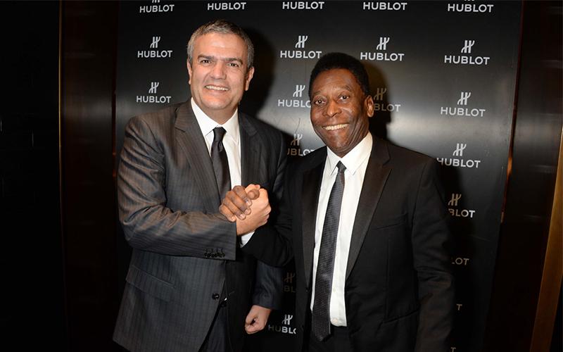 Hublot Ambassadors Pelé football player world cup