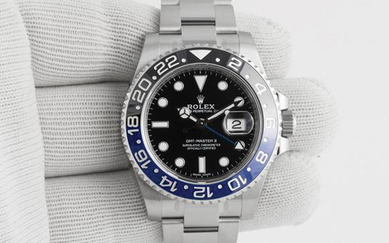 Rolex Oyster Perpetual_GMT-Master II_Automatic_3186 caliber_Steel case_Steel bracelet_Men's watch/unisex_Ceramic bezel_Sapphire glass_Black dial_No numerals