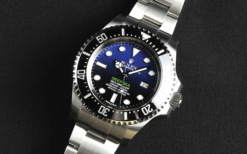 af8334d2eba Rolex Oyster Perpetual Date Sea Dweller Deepsea 116660 Automatic Steel Case  Steel Bracelet Men's Watch/unisex 3135 Caliber Ceramic Bezel Sapphire Glass  Blue ...