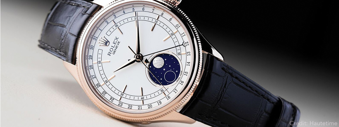 A Closer Look At The Rolex Cellini Moonphase