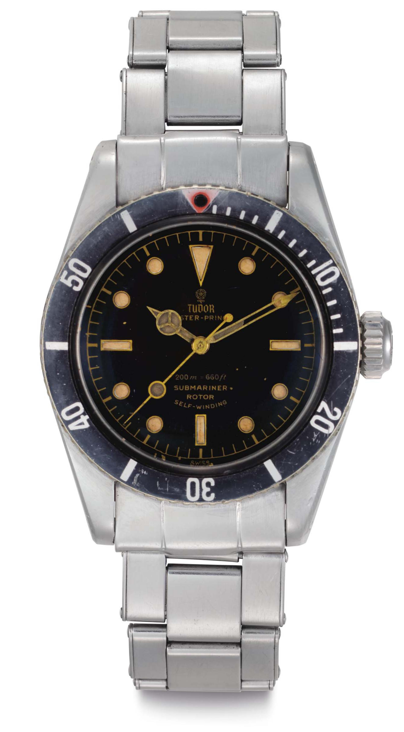 Tudor, Oyster-Prince Submariner, Ref. 7924. Circa 1959. (Credit: Christie's)